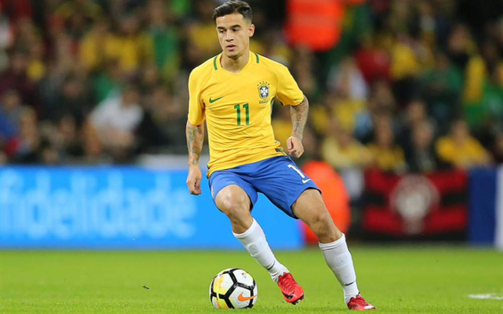 Philippe Coutinho of Brazil