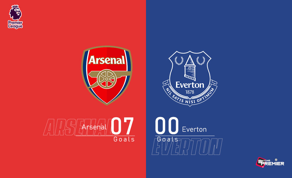 Arsenal EPL Biggest Win Against Everton