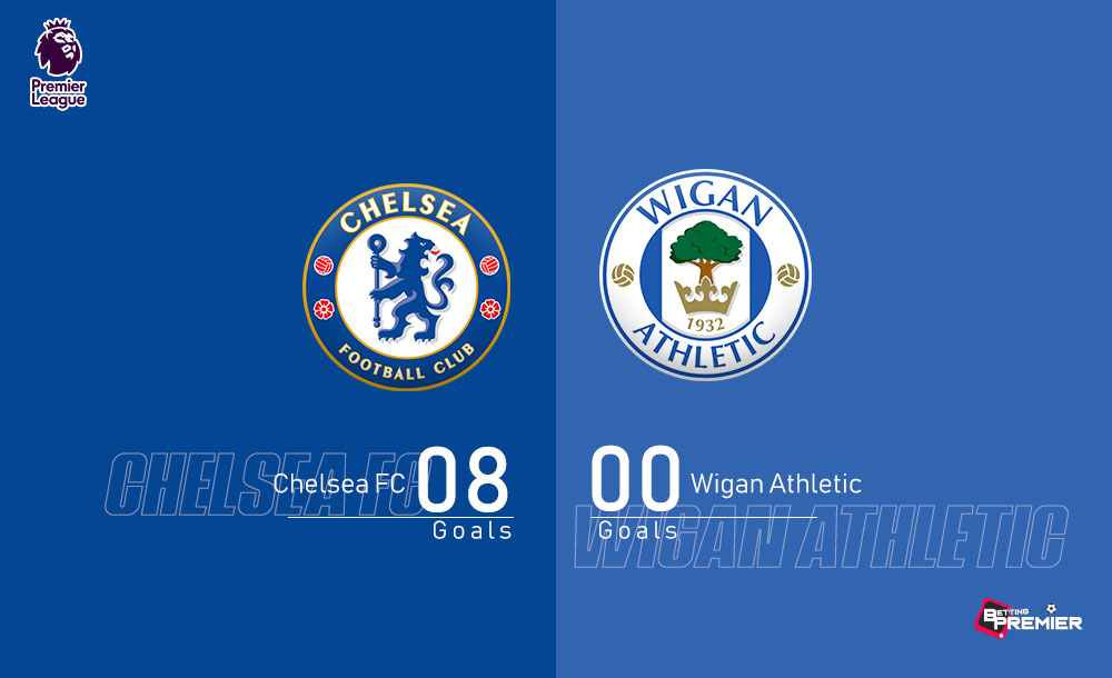 Chelsea EPL Biggest Win Against Wigan Athletic