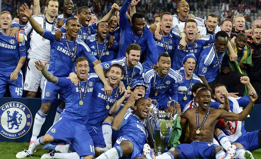 Chelsea UCL Win