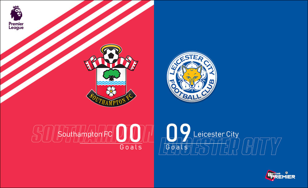 Leicester City EPL Biggest Win Against Southampton