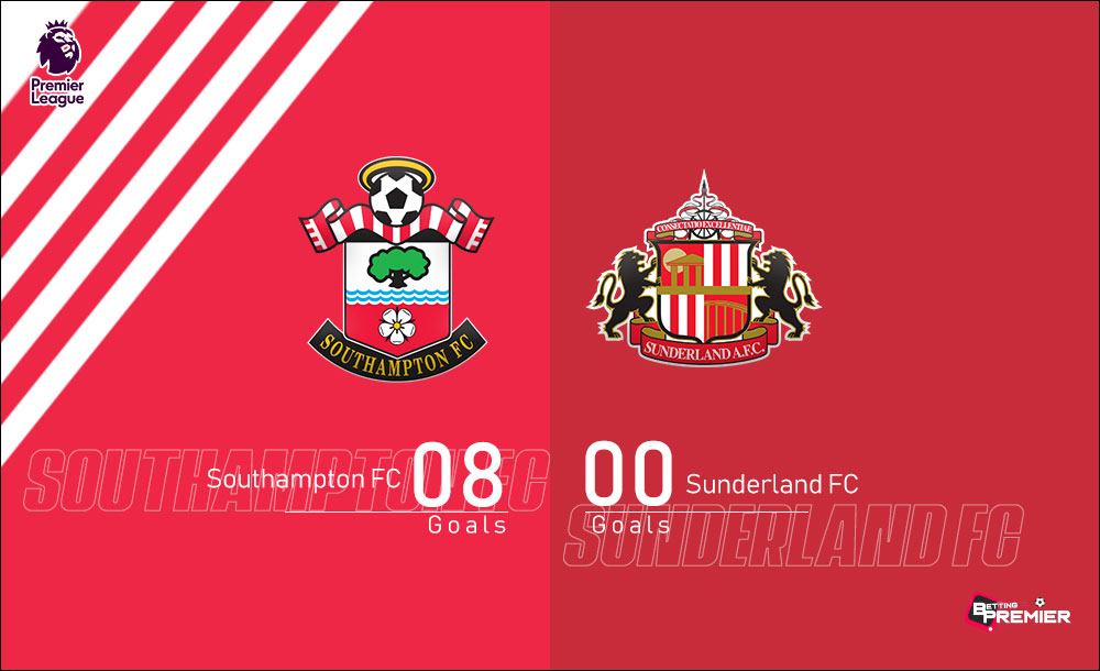 Southampton EPL Biggest Win Against Sunderland