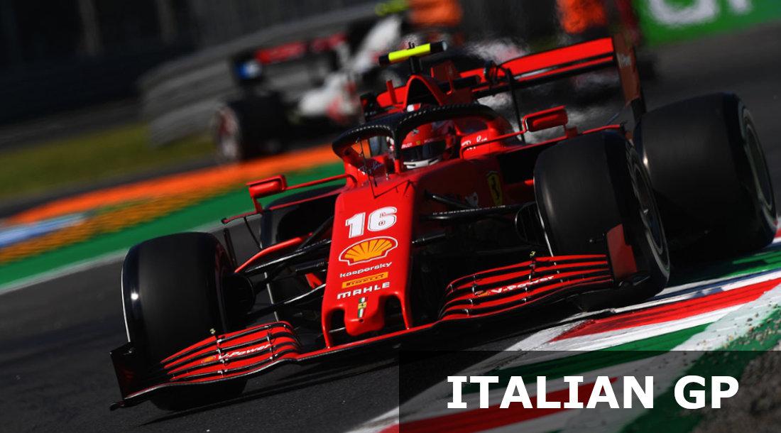F1 italian GP prediction
