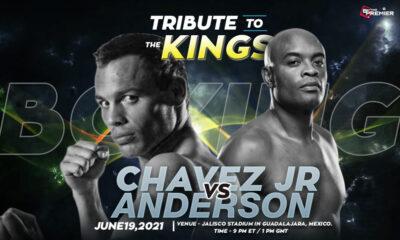 Julio Cesar Chavez Jr vs Anderson Silva